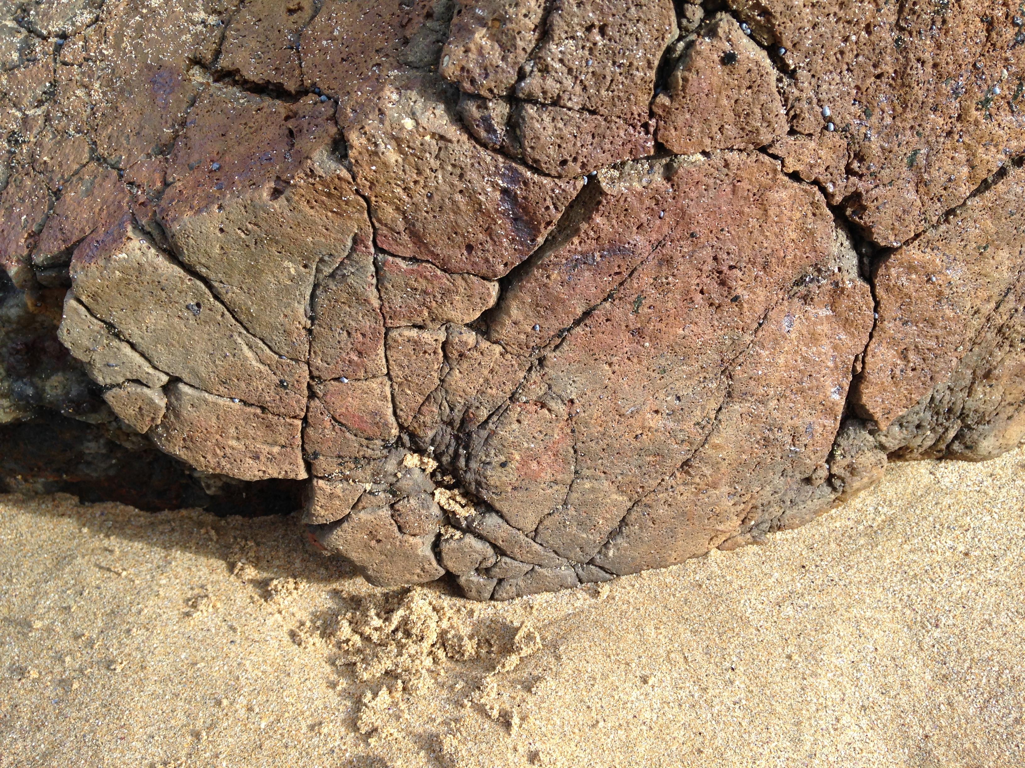 Eagle Rock, volcanic bomb